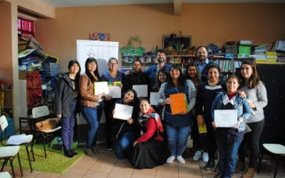 FSRR develops a storytelling workshop for teachers in Barrancas